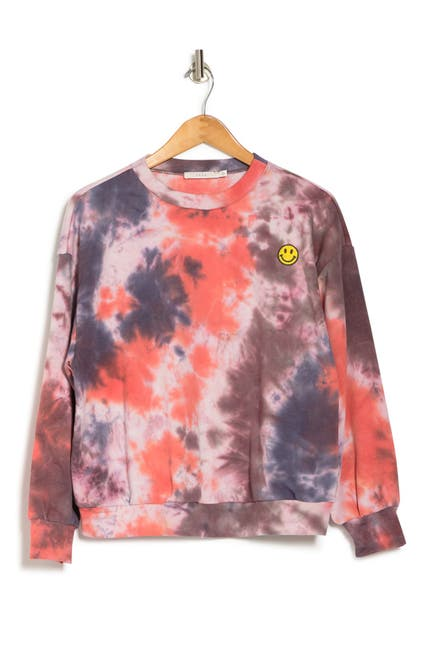 Image of Lush Tie Dye Pullover Sweater