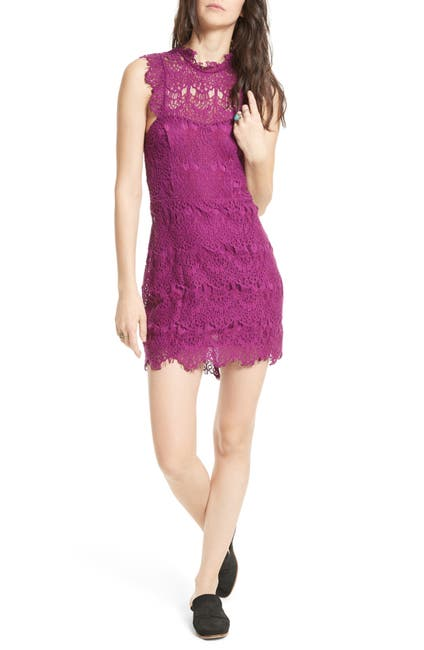 Image of Free People Daydream Lace Mini Dress