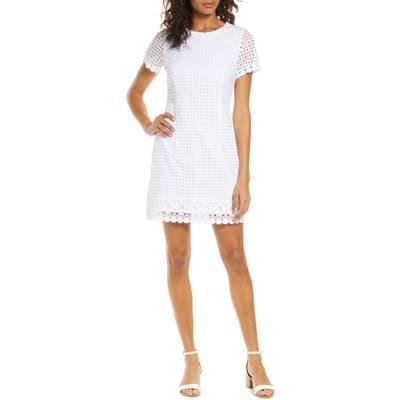 Lilly Pulitzer Jennifer Shift Dress, White