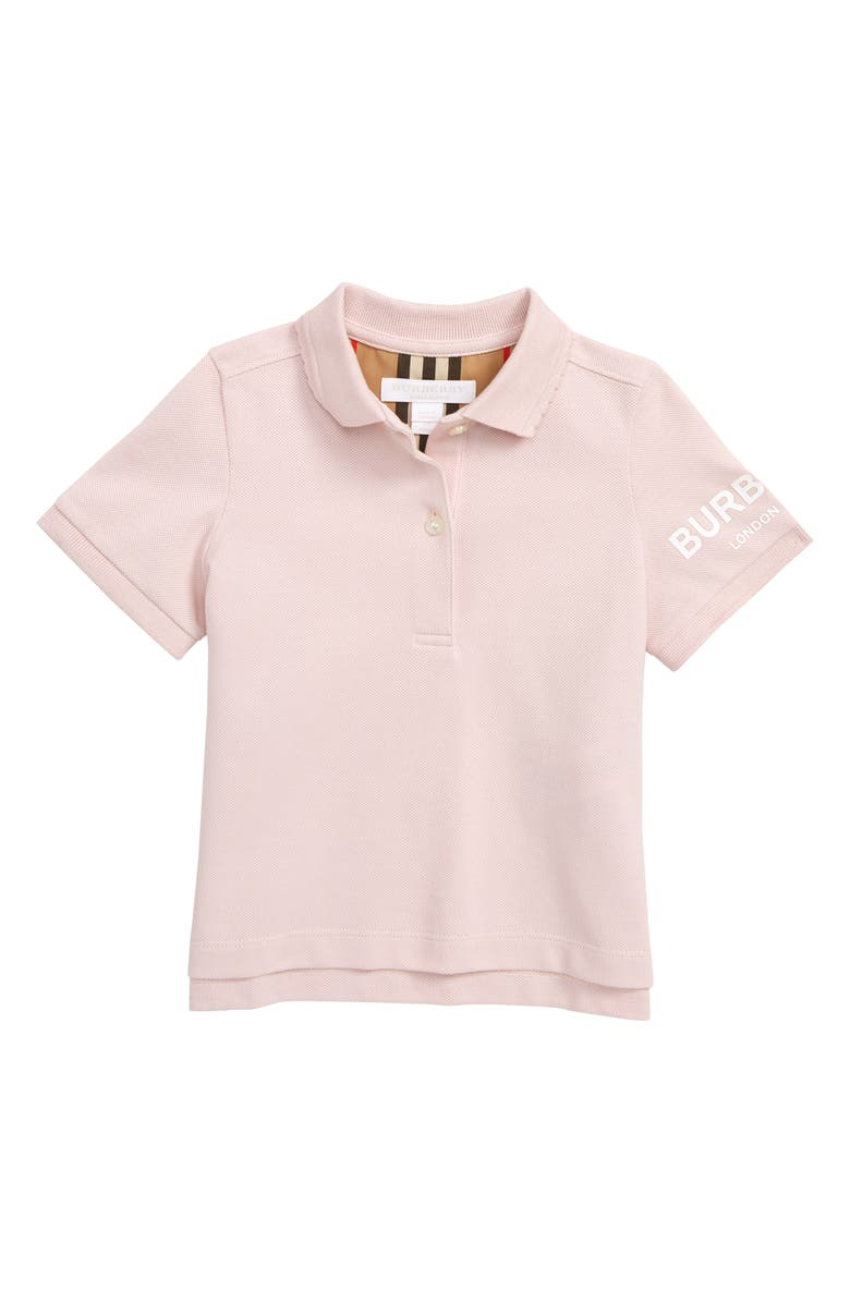 BURBERRY Rae Polo, Main, color, ICE PINK