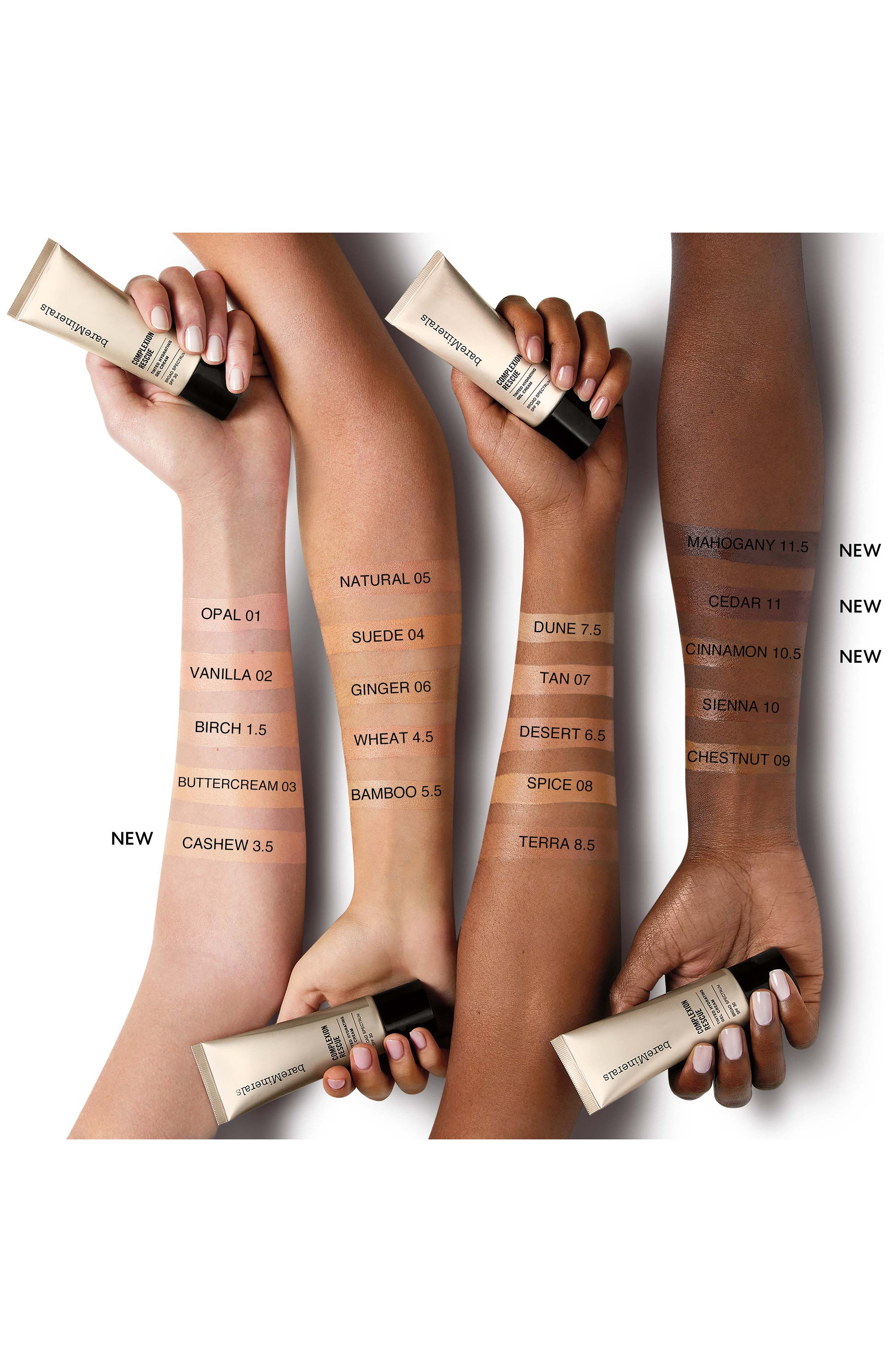 ,                             COMPLEXION RESCUE<sup>™</sup> Tinted Moisturizer Hydrating Gel Cream SPF 30,                             Alternate thumbnail 4, color,                             07 TAN