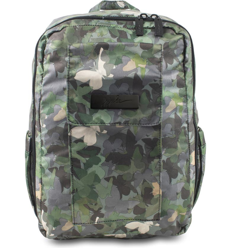 JU-JU-BE Mini Be - Onyx Collection Backpack, Main, color, BUTTERFLY FOREST