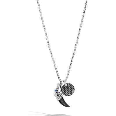 John Hardy Legends Naga Charm Necklace