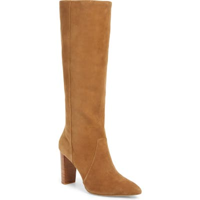 Paige Carmen Knee High Boot- Brown