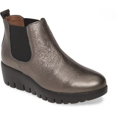 Wonders Slip-On Chelsea Boot - Metallic