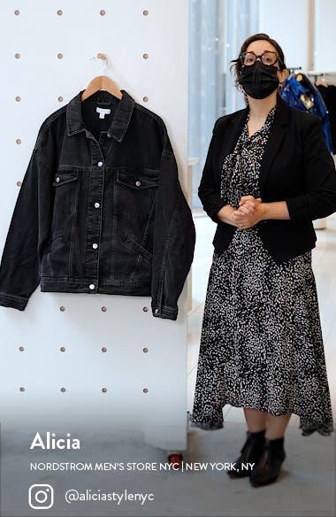 Oversized Denim Jacket, sales video thumbnail