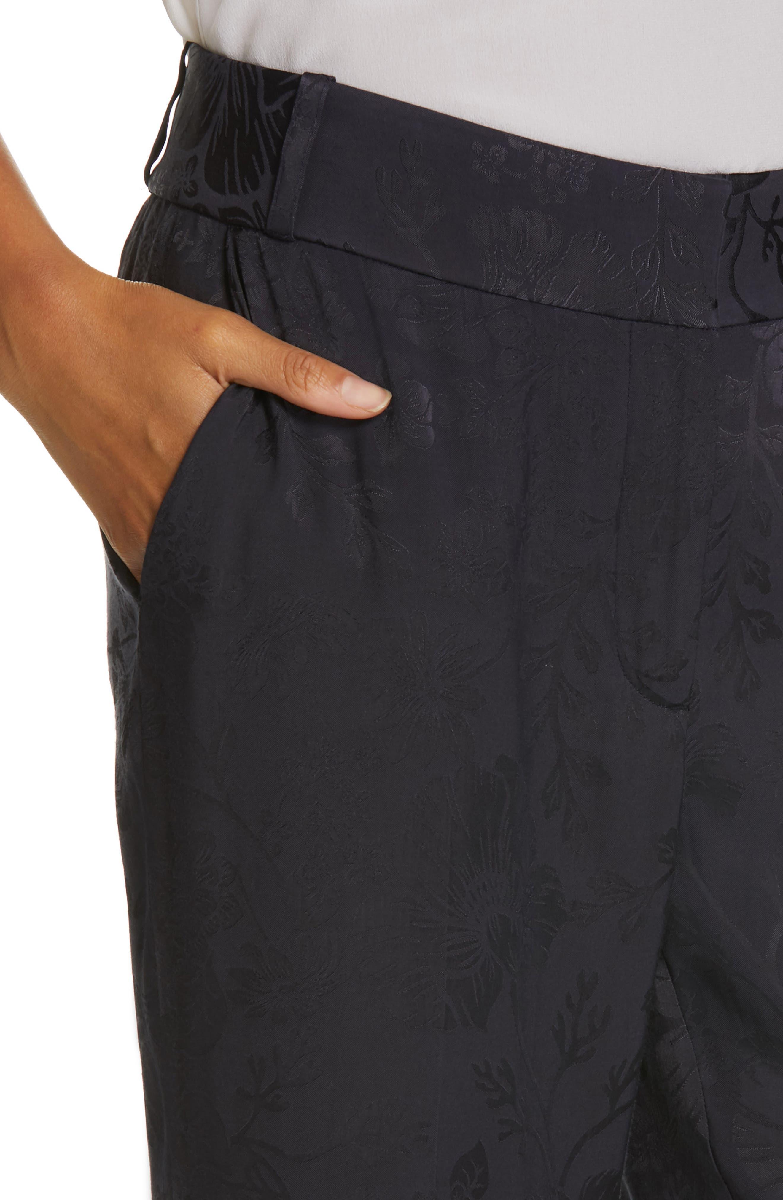 ,                             Lita Jacquard Trousers,                             Alternate thumbnail 5, color,                             400