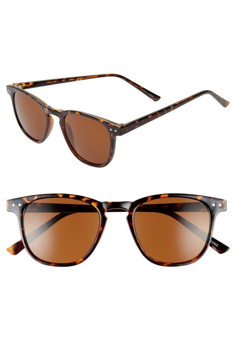 BP. x Alex Costa Sunglasses, Main, color, TORTOISE/ BROWN