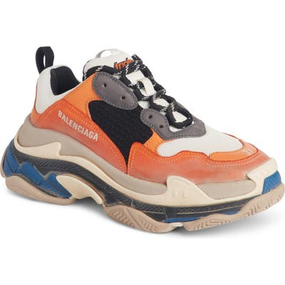 Balenciaga Triple S Sneaker, Orange