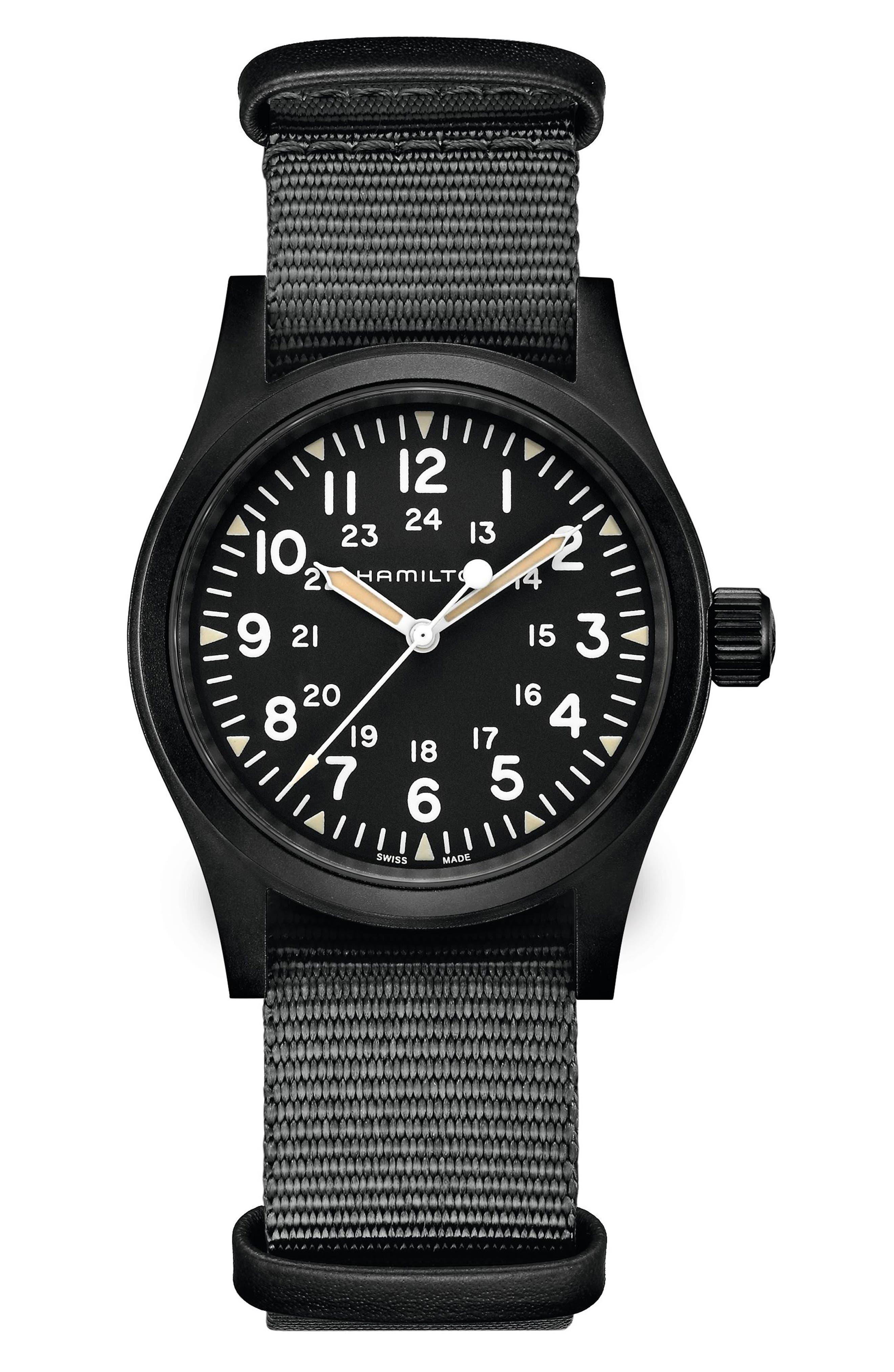 Khaki Field Nato Strap Watch