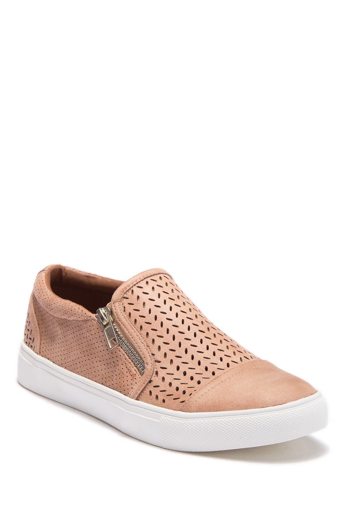Report | Alexa Perforated Zip Sneaker