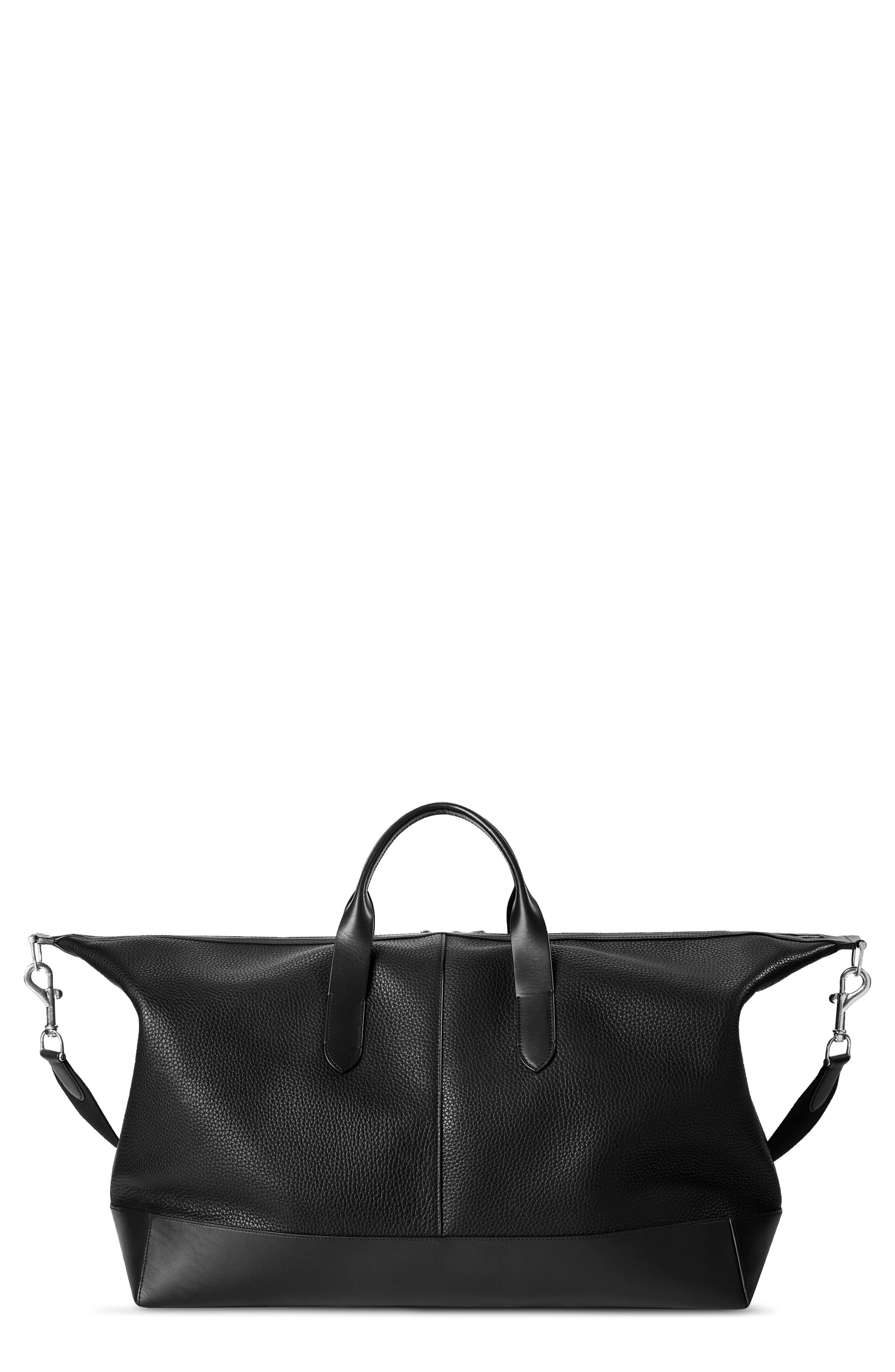 Canfield Classic Leather Duffle Bag