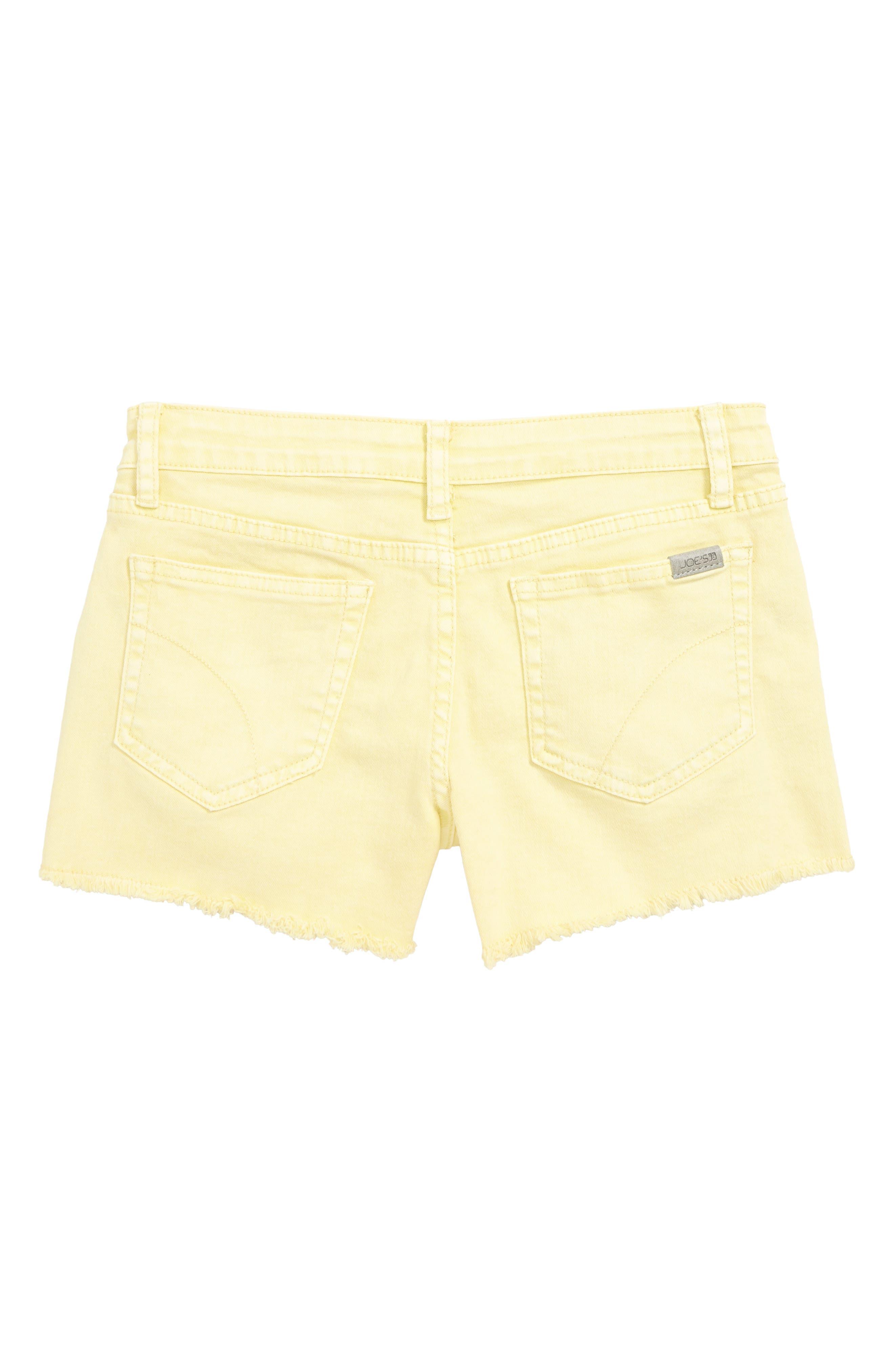 ,                             The Markie Cutoff Denim Shorts,                             Alternate thumbnail 2, color,                             PALE BANANA