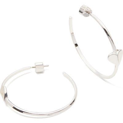 Kate Spade New York Heritage Spade Hoop Earrings