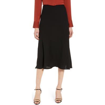 Halogen Bias Cut A-Line Skirt