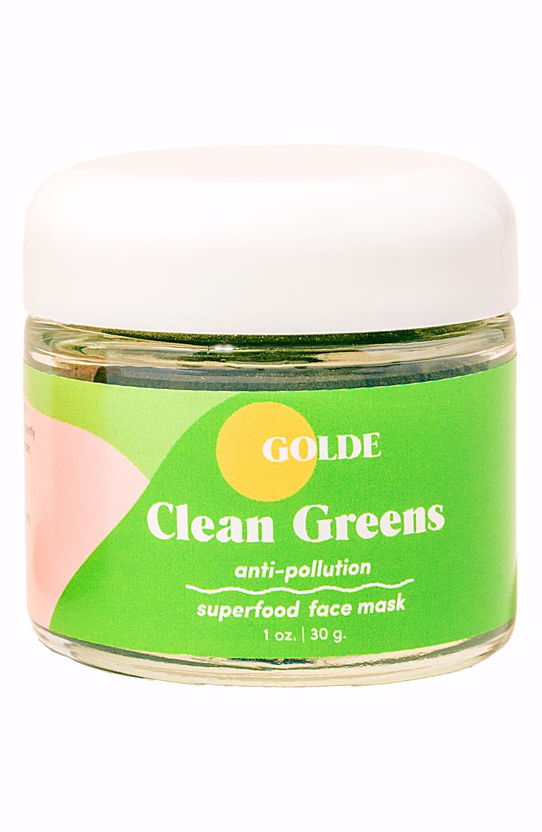 GOLDE Clean Greens Anti-Pollution Superfood Face Mask, Main, color, NONE