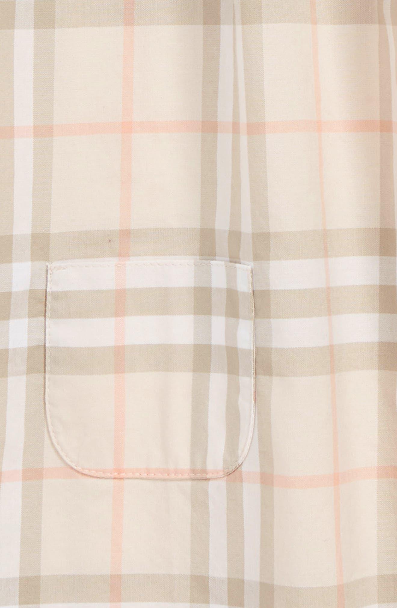 ,                             Vinya Shift Dress,                             Alternate thumbnail 3, color,                             PALE PINK APRICOT IP