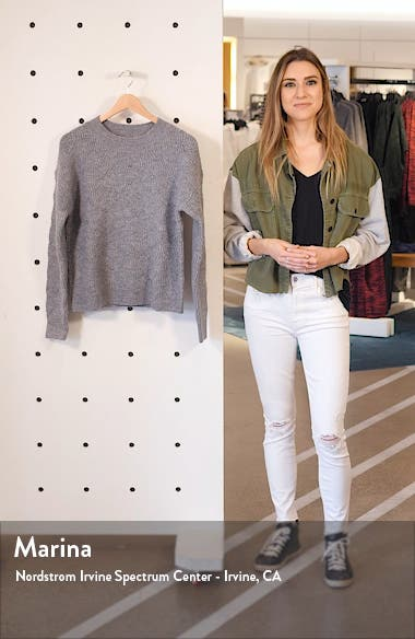 Pointelle Stitch Pullover, sales video thumbnail
