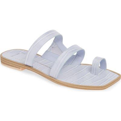 Dolce Vita Isla 3 Croc Textured Slide Sandal