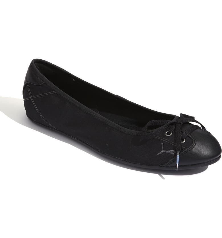 PUMA 'Lily' Ballet Flat, Main, color, 001