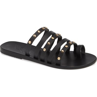 Ancient Greek Sandals Niki Nails Sandal, Black