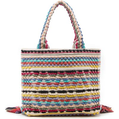 Sole Society Jaam Woven Tote - Red