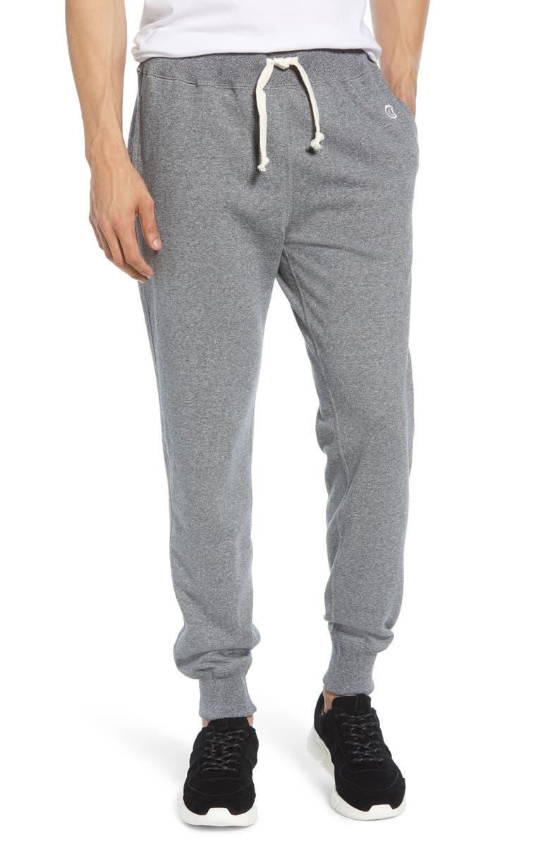 TODD SNYDER + CHAMPION Slim Fit Sweatpants, Main, color, SALT AND PEPPER
