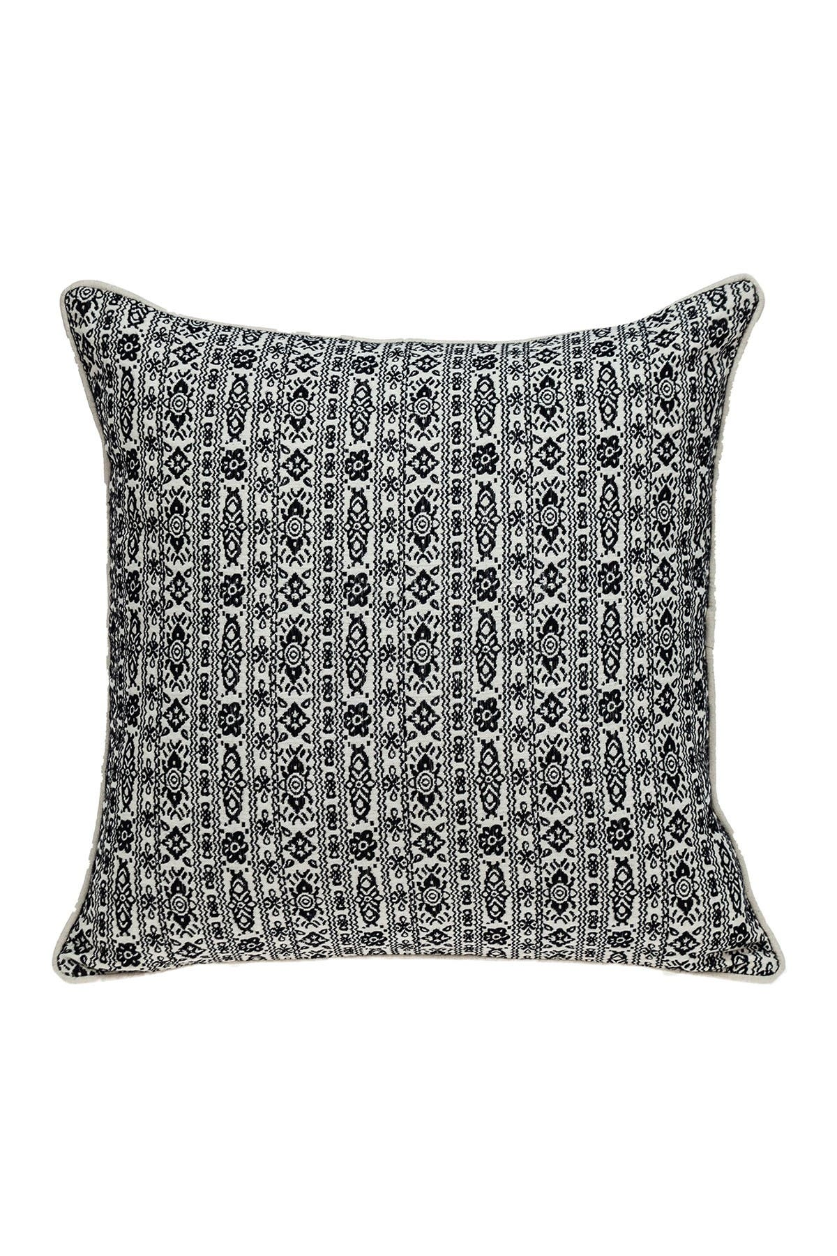Image of Parkland Collection Andy Transitional Ivory Throw Pillow