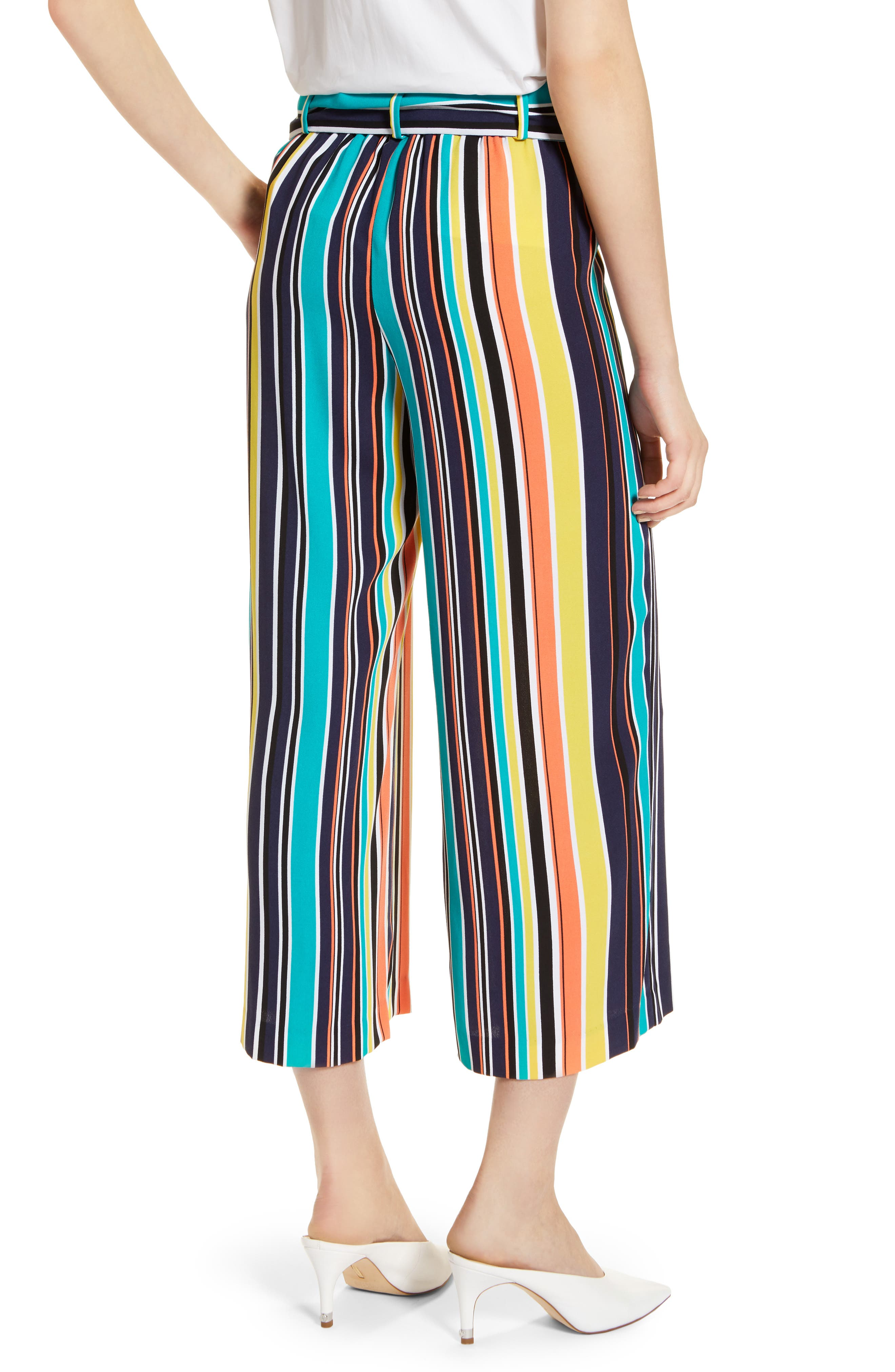 ,                             Wide Leg Crop Pants,                             Alternate thumbnail 53, color,                             412