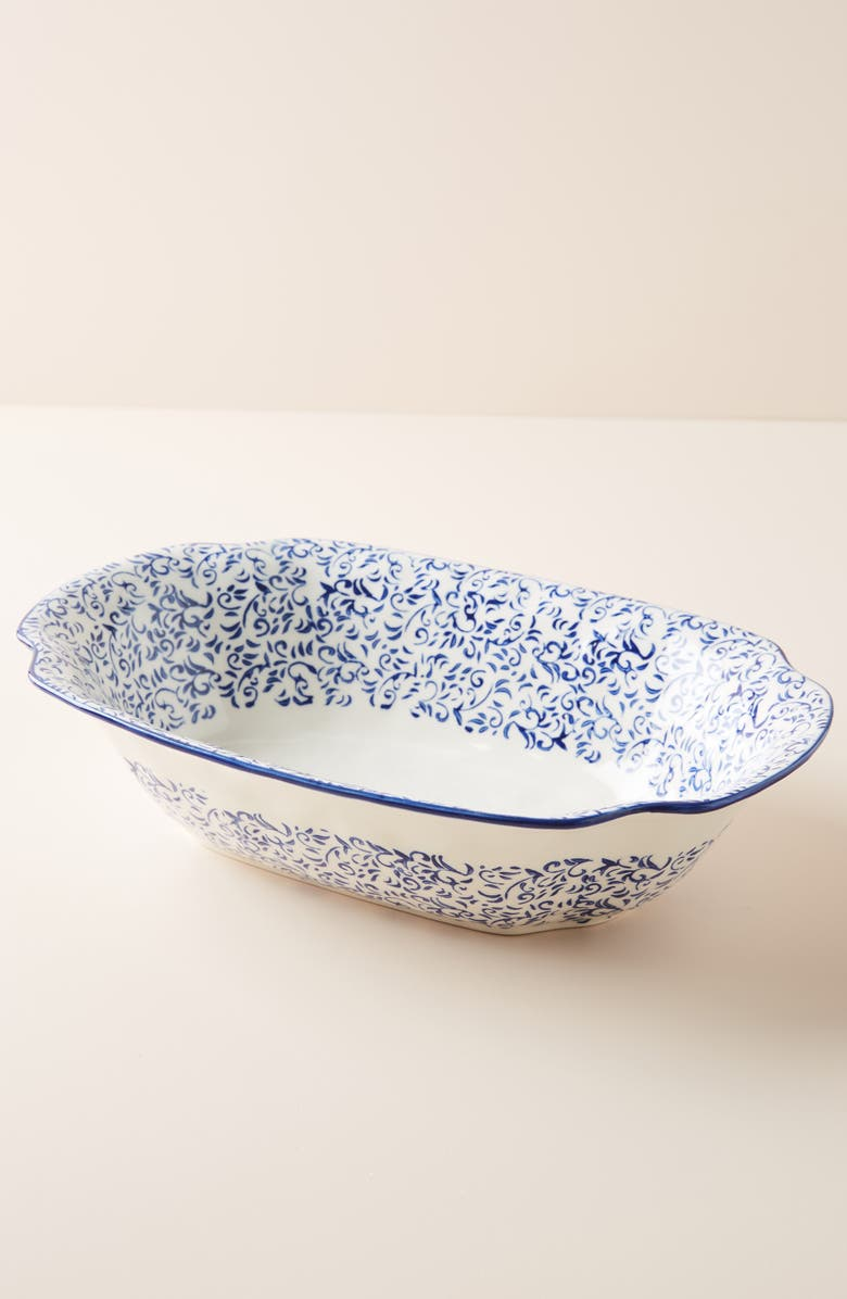 Attingham Small Serving Bowl by Anthropologie