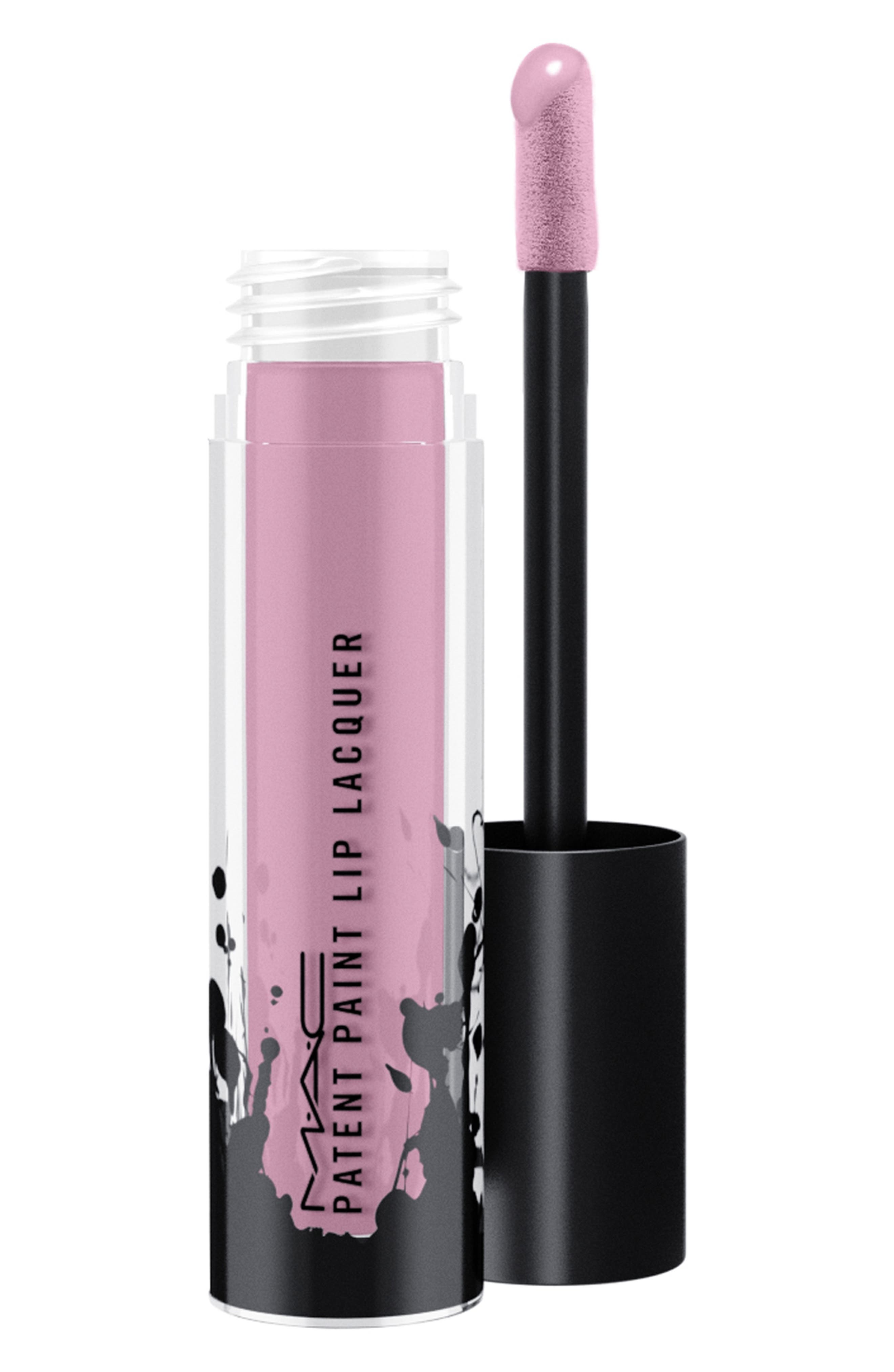 Image of MAC Cosmetics Patent Paint Lip Lacquer - Varnsihed Reputation
