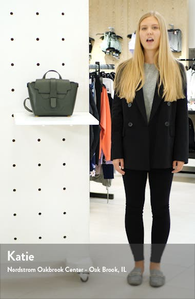 Mini Maestra Leather Satchel, sales video thumbnail