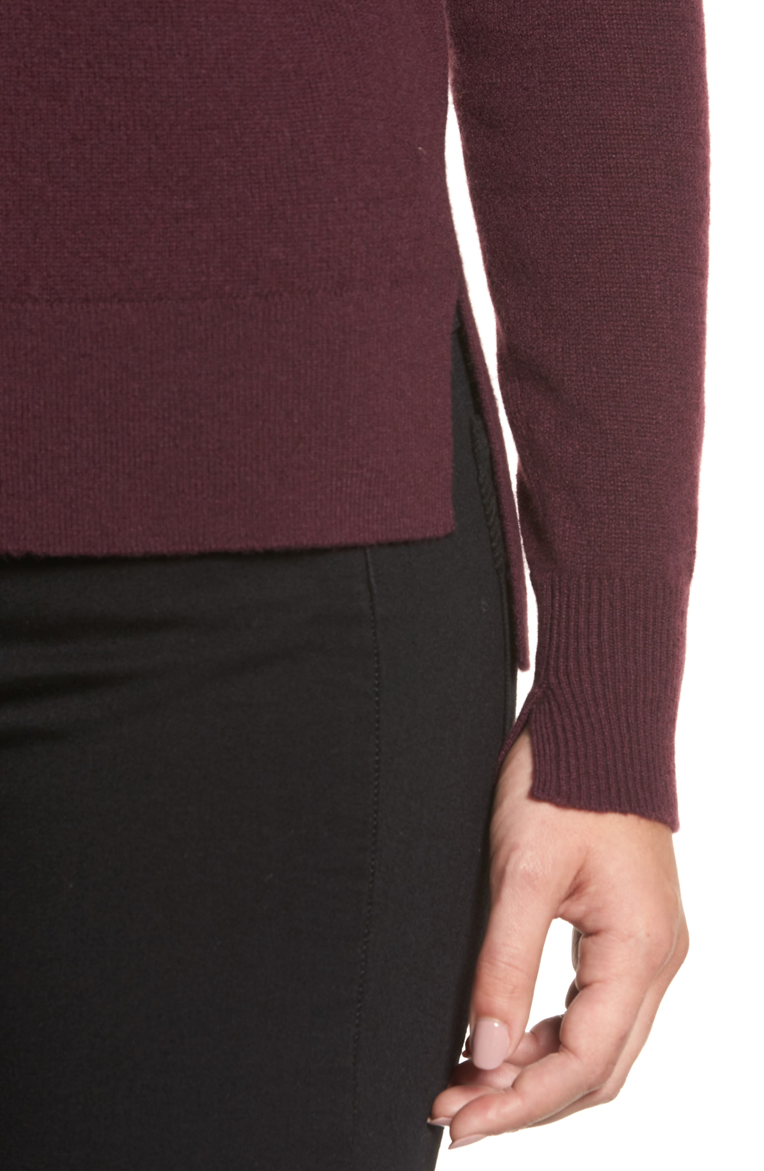 ,                             Crewneck Cashmere Sweater,                             Alternate thumbnail 291, color,                             930