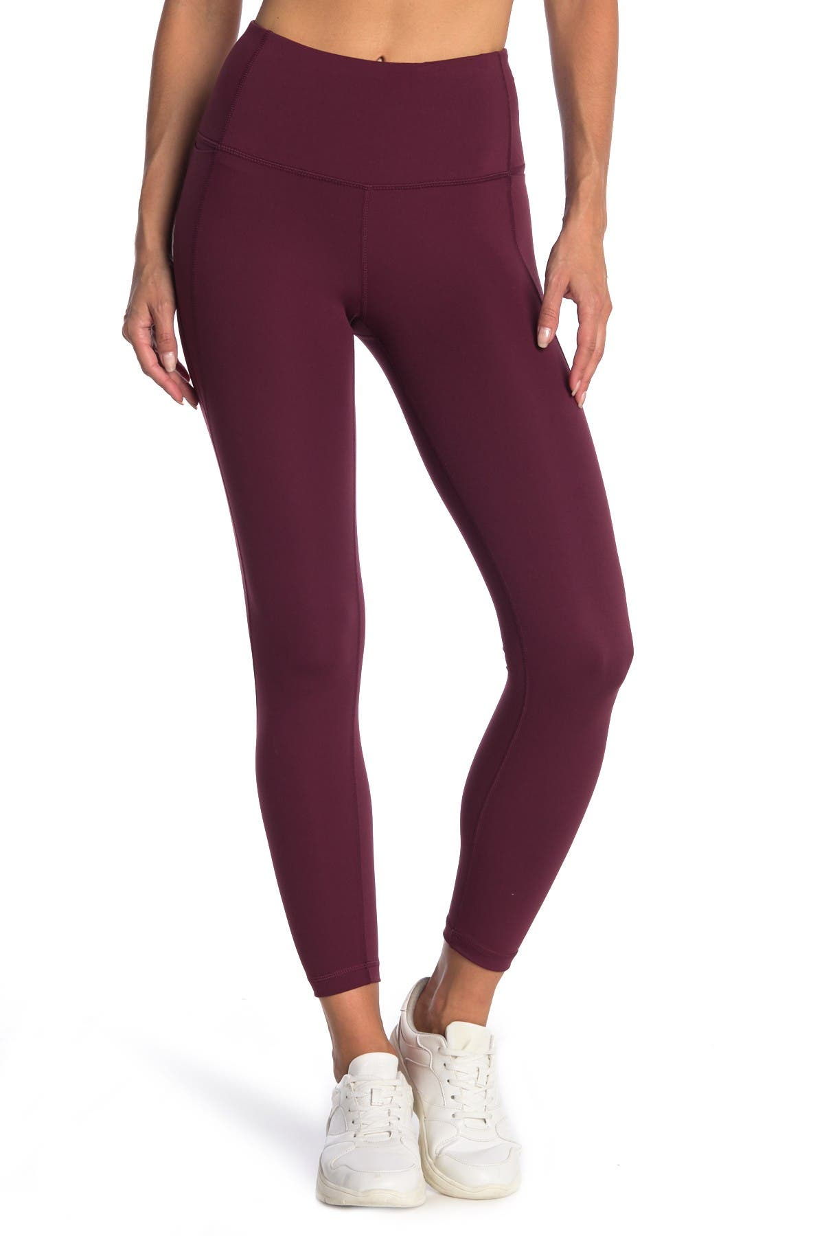 Image of 90 Degree By Reflex Lux High Rise Cropped Leggings
