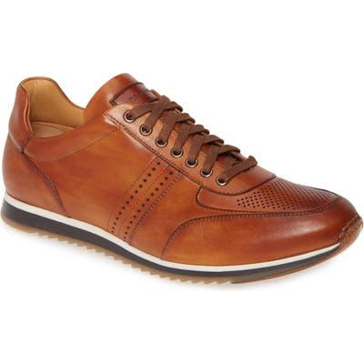 Magnanni Marlow Water Resistant Sneaker- Brown