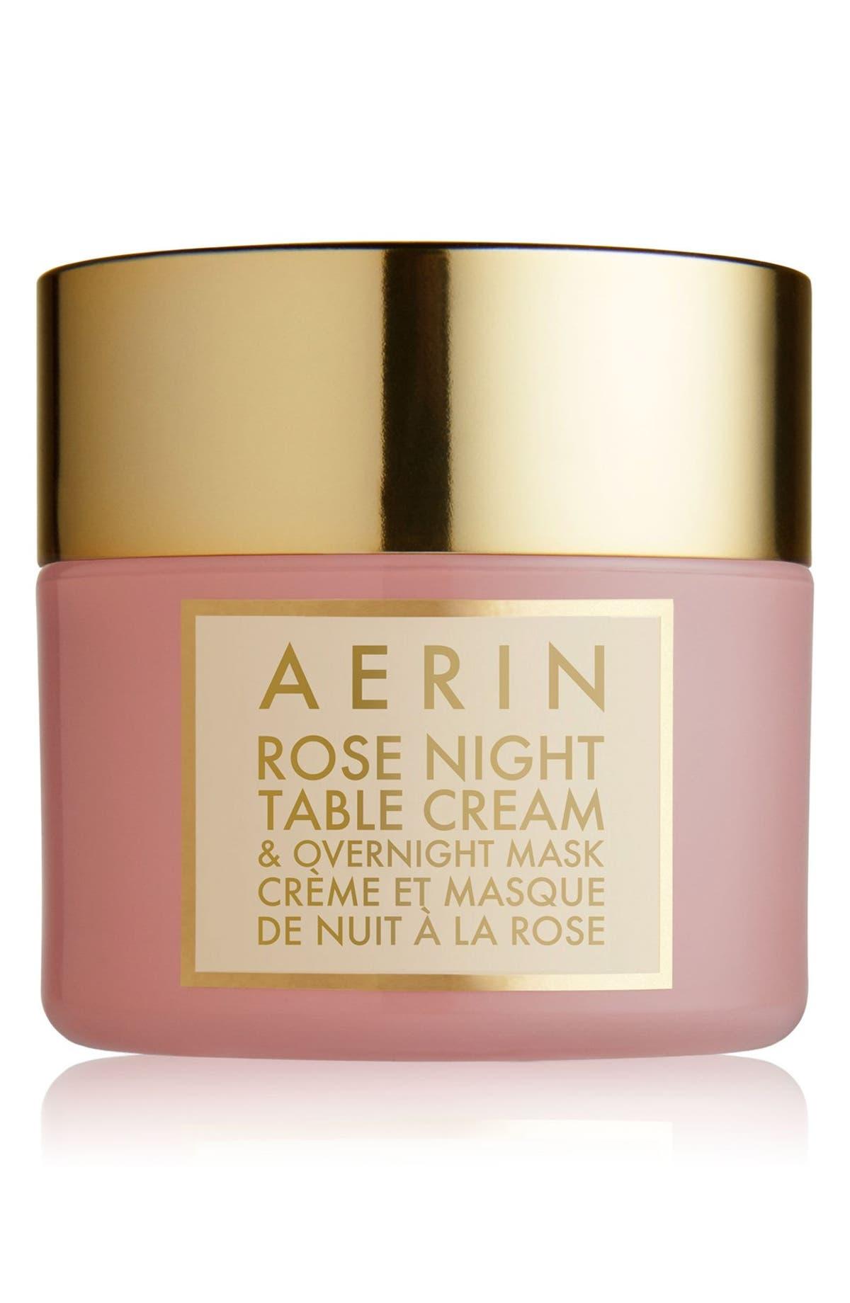 0befa3f727 AERIN Beauty Rose Night Table Cream & Overnight Mask   Nordstrom
