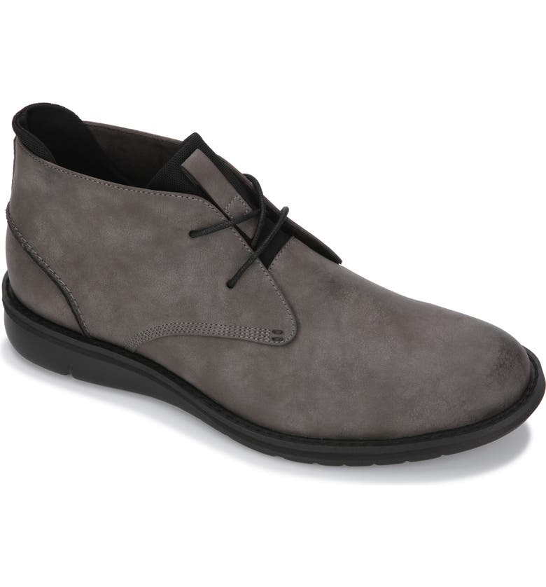 REACTION KENNETH COLE Kenneth Cole Reaction Casino Chukka Boot, Main, color, DARK GREY