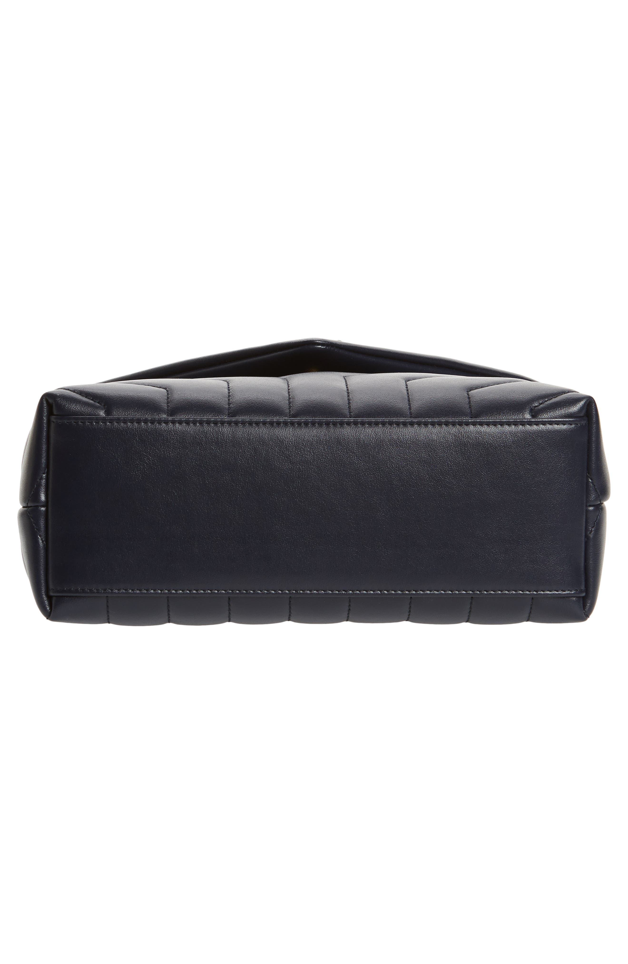 ,                             Small Loulou Leather Shoulder Bag,                             Alternate thumbnail 21, color,                             400