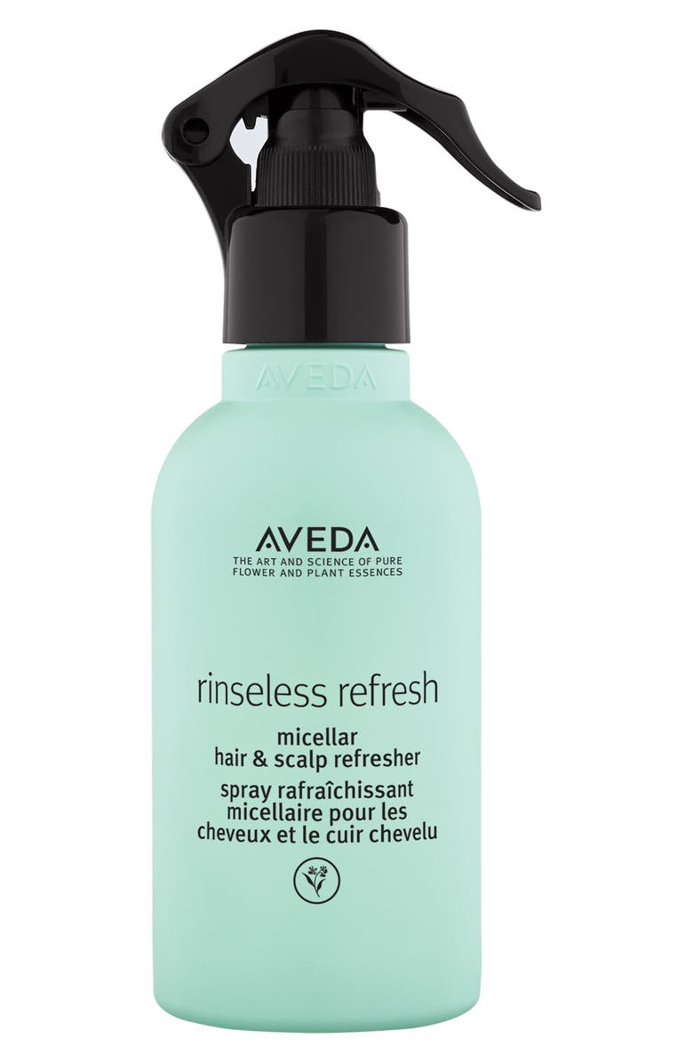 AVEDA Rinseless Refresh Micellar Hair & Scalp Refresher, Main, color, NO COLOR