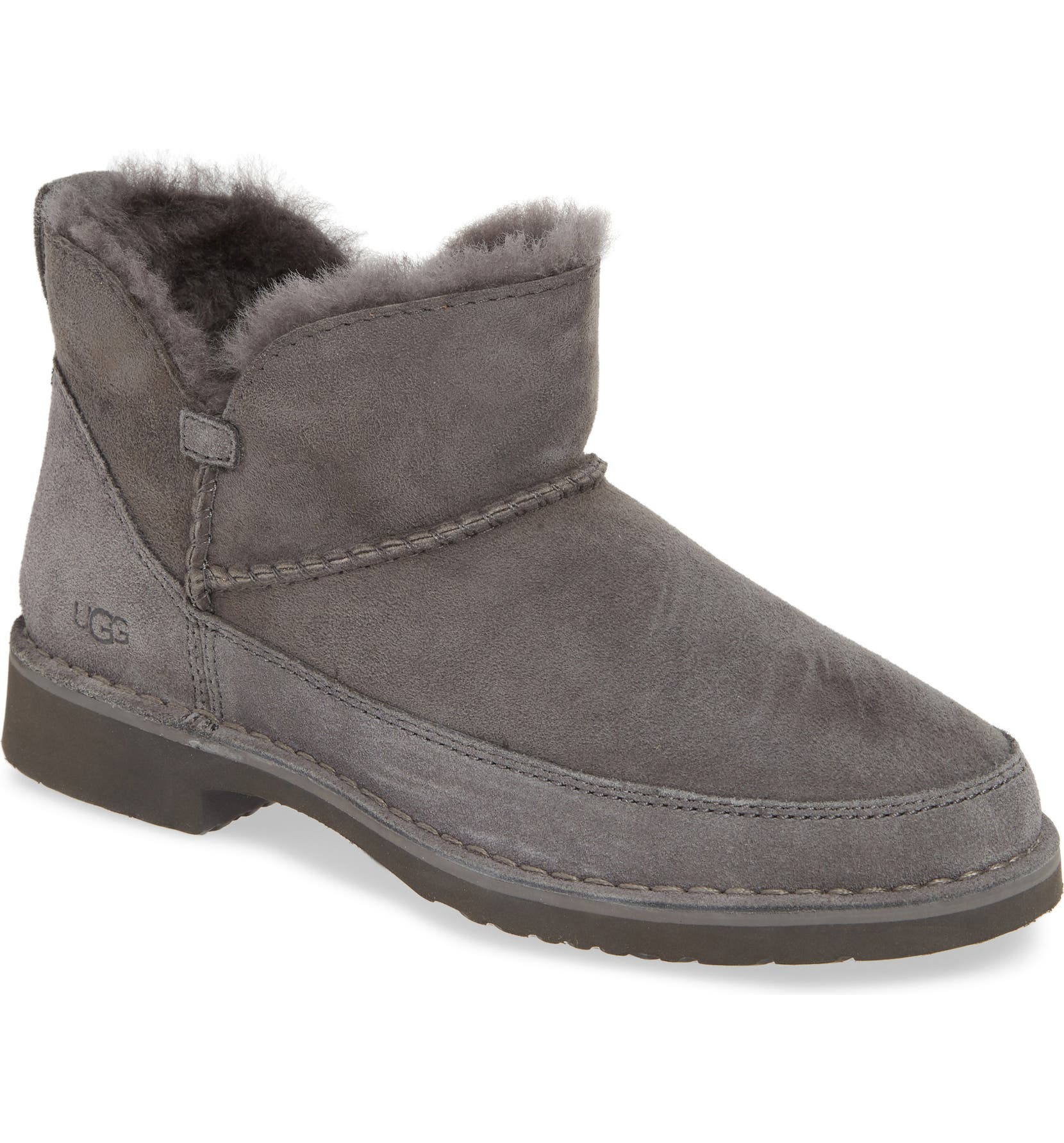 4332c406495 Melrose Genuine Shearling Bootie