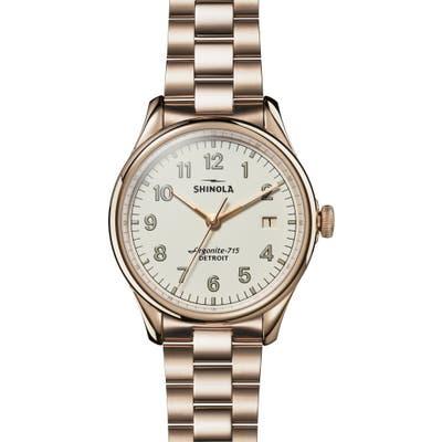 Shinola The Vinton Bracelet Watch,