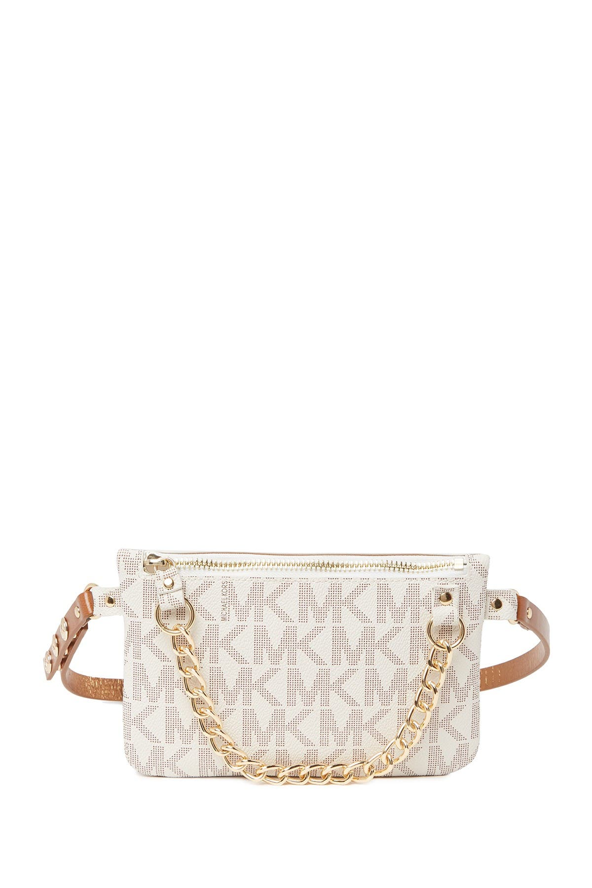 Image of Michael Kors Pull Chain Belt Bag