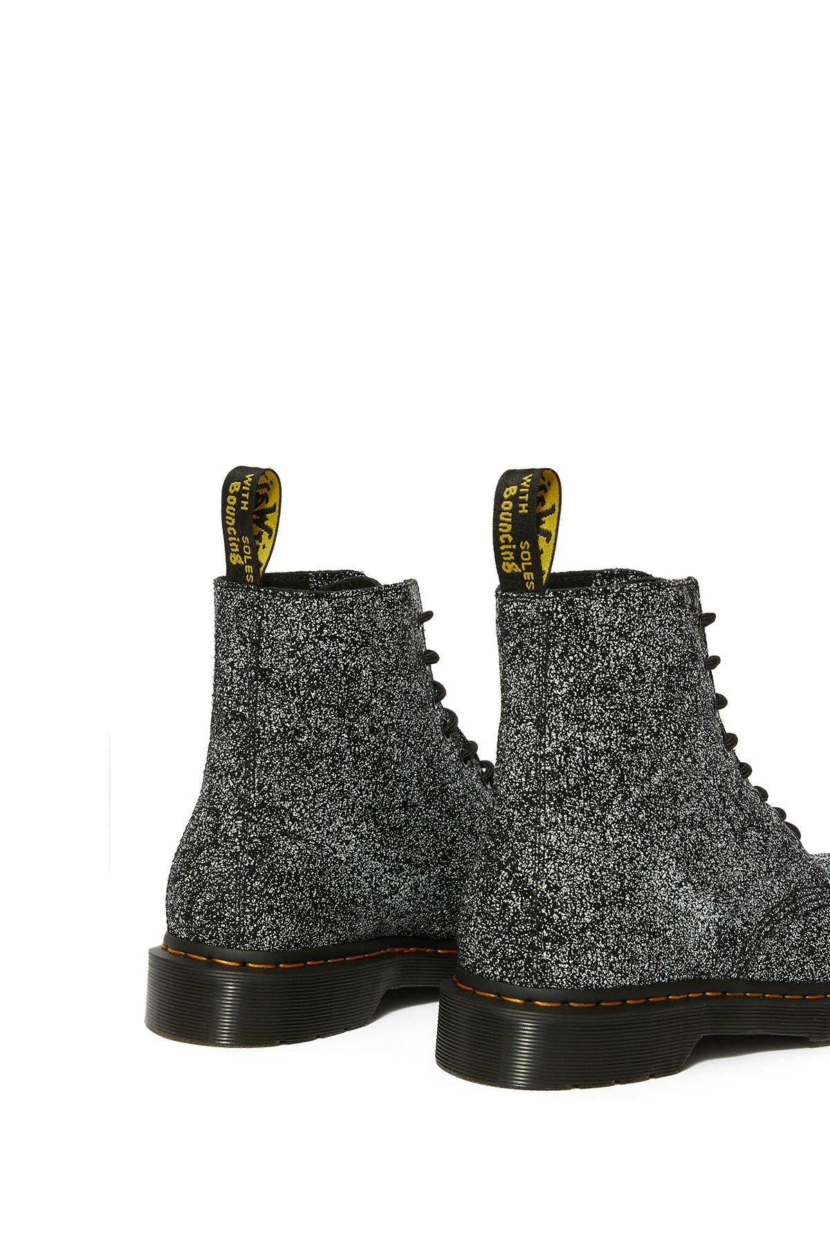 Dr. Martens 1460 Pascal Boot In Black Splatter