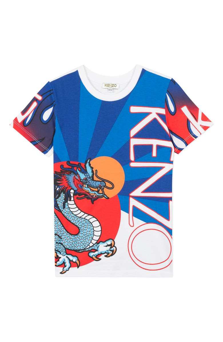 KENZO Logo Graphic T-Shirt, Main, color, 165