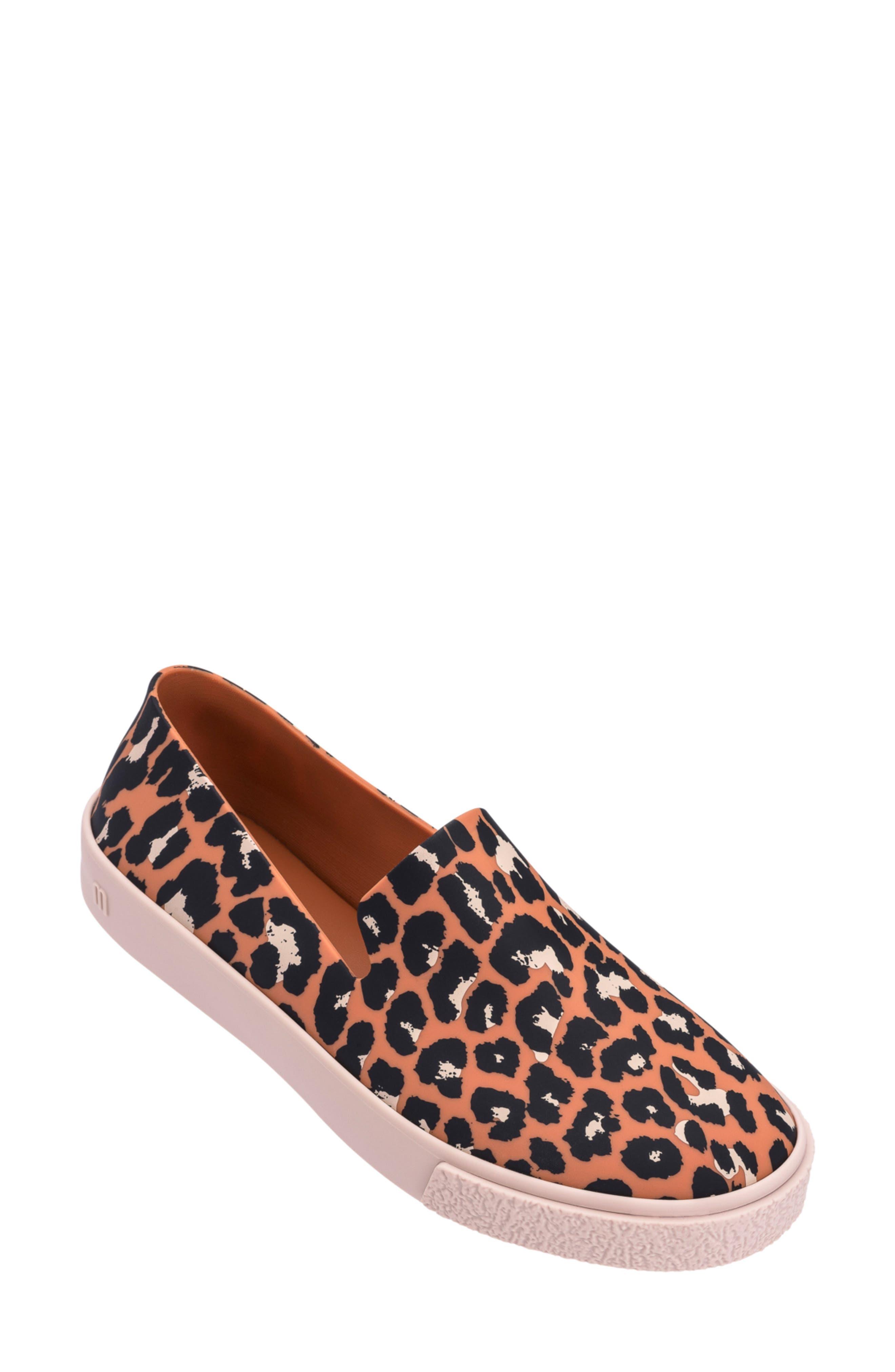 Melissa Ground Iii Slip-On Sneaker, Orange