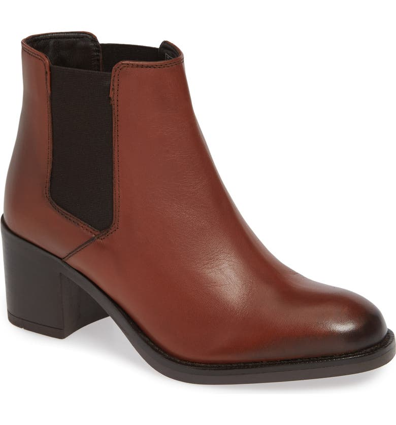 CLARKS<SUP>®</SUP> Mascarpone Bay Chelsea Boot, Main, color, TAN LEATHER