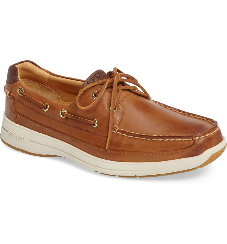 SPERRY Gold Cup Ultralite Boat Shoe, Main, color, TAN