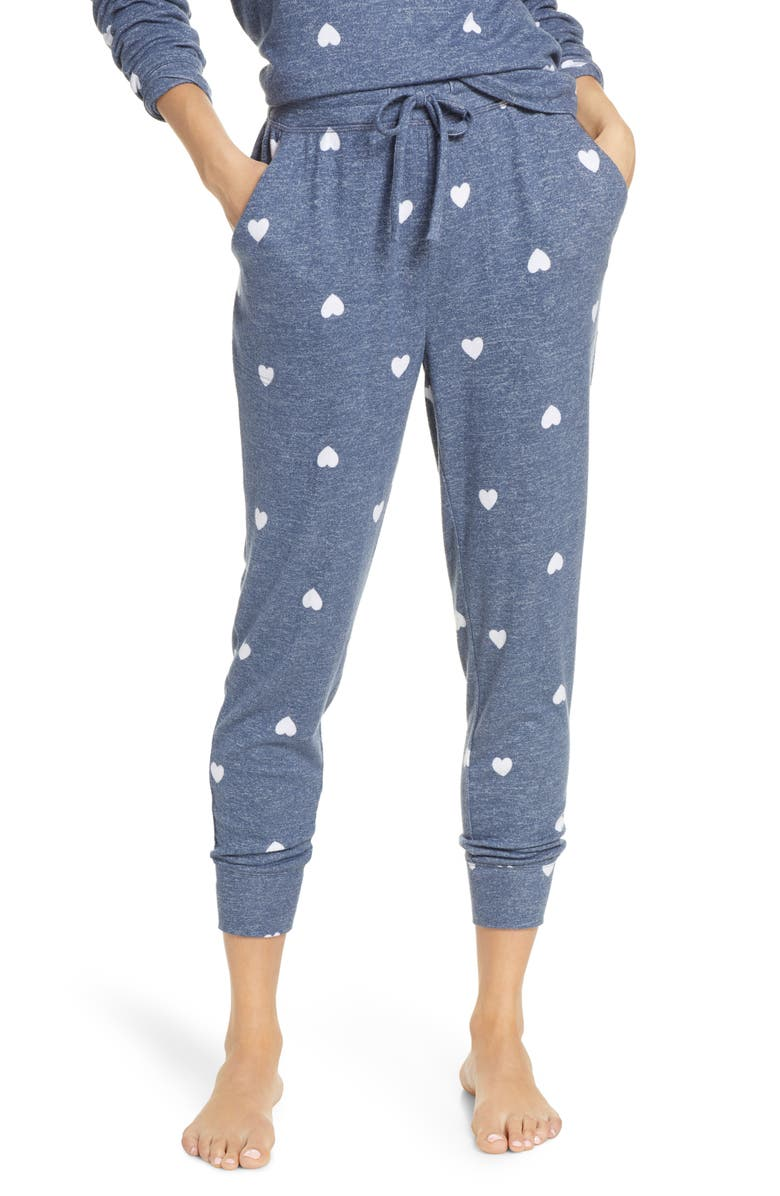BP. Cozy Joggers, Main, color, BLUE VINTAGE HEARTS