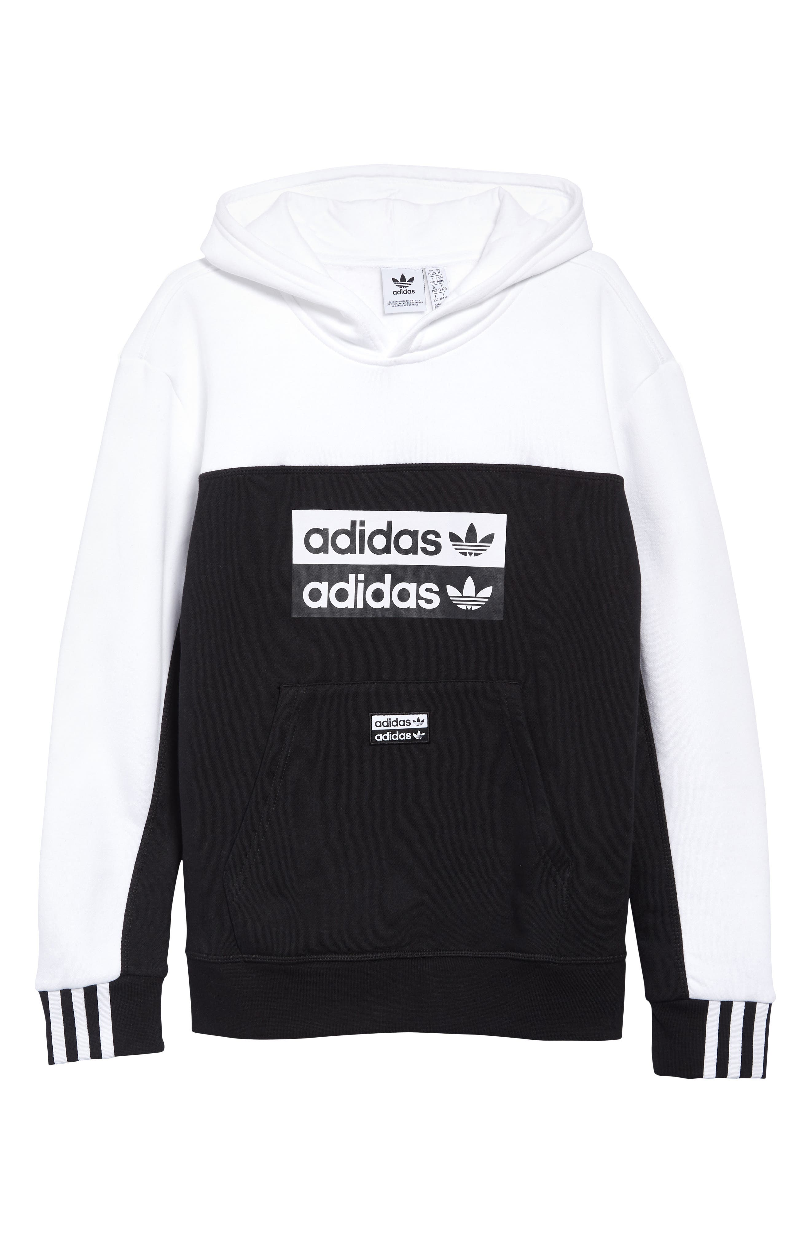 Image of ADIDAS ORIGINALS Colorblocked Hoodie