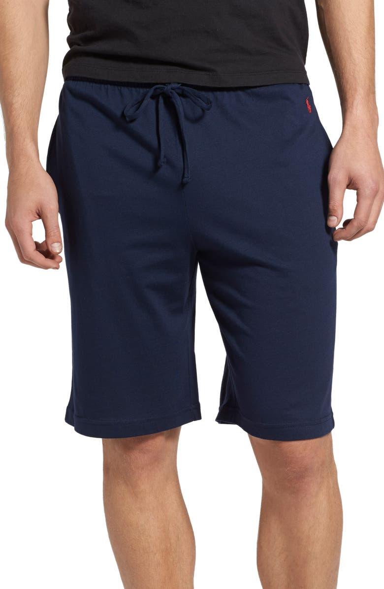 POLO RALPH LAUREN Sleep Shorts, Main, color, CRUISE NAVY